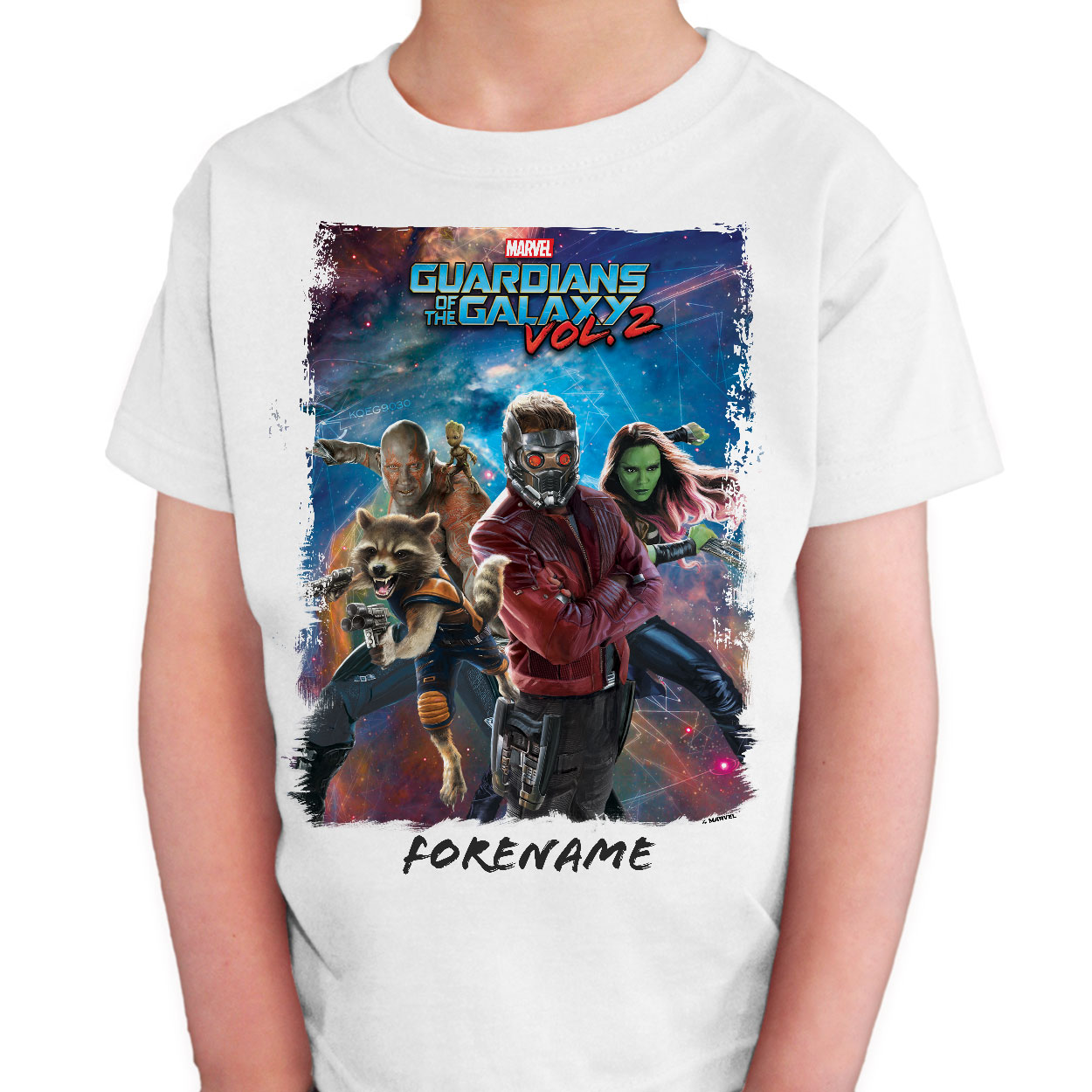 Marvel Guardians of the Galaxy Group Kids T-Shirt