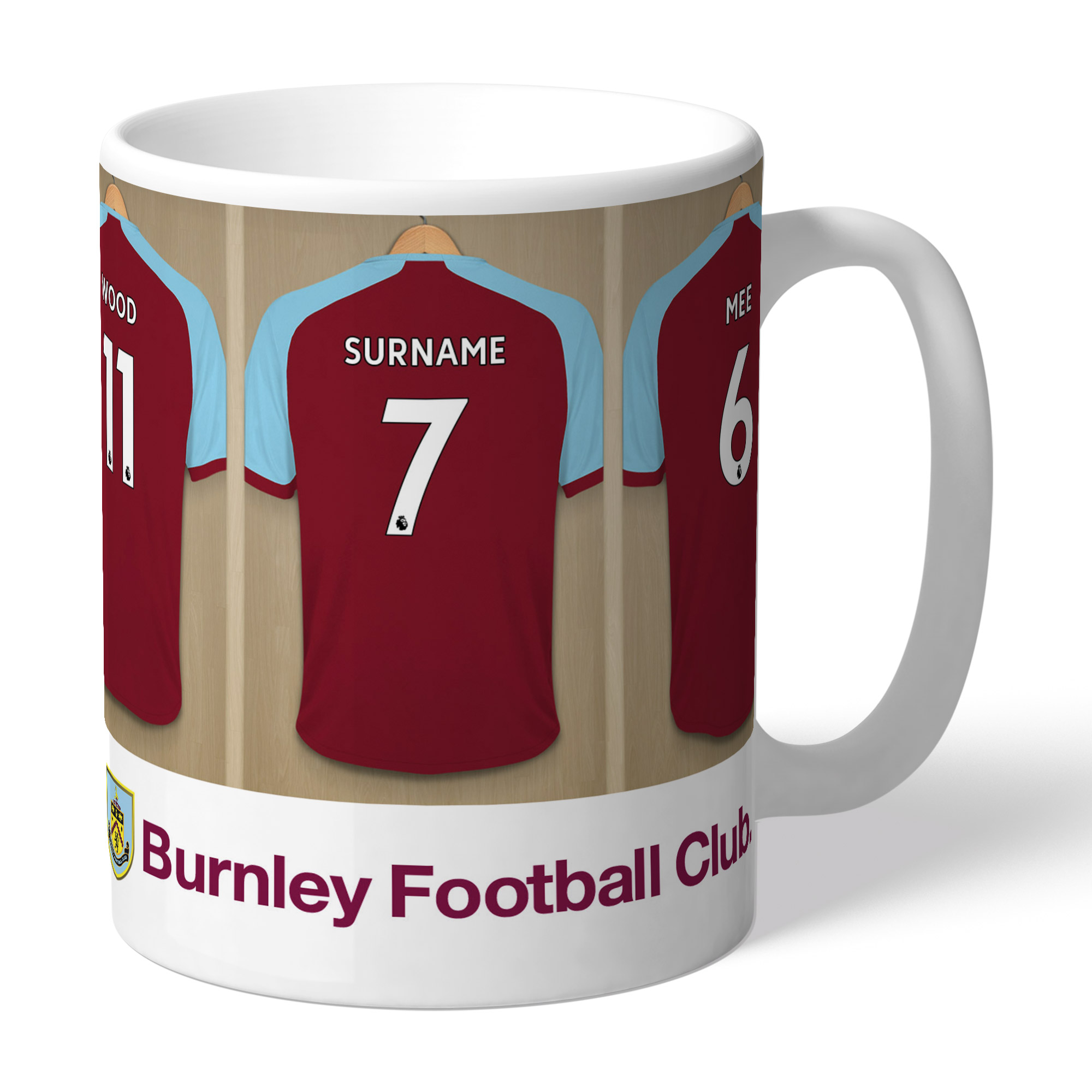Burnley FC Dressing Room Mug