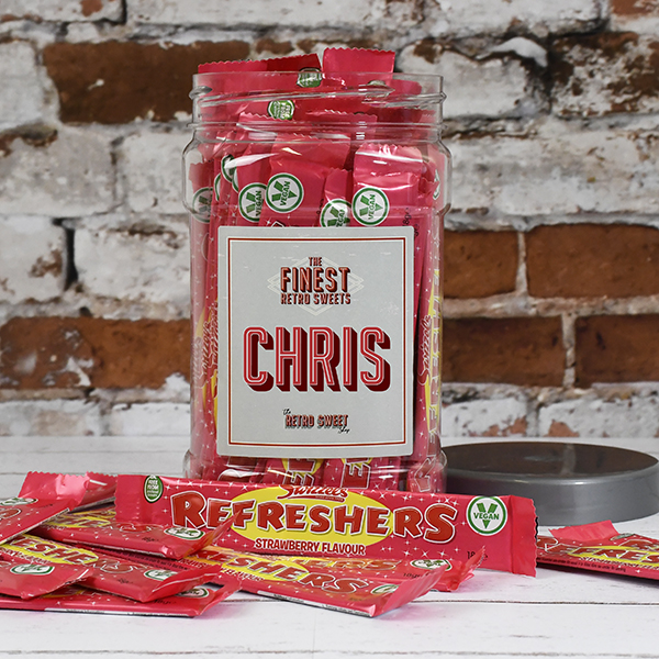 Giant Refreshers Sweet Jar