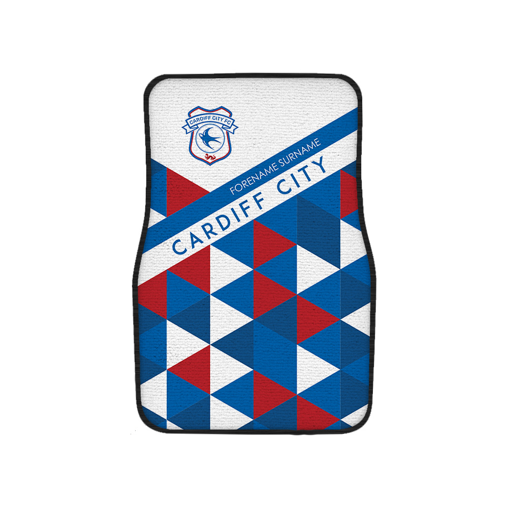 Cardiff City FC Patterned Front Car Mat