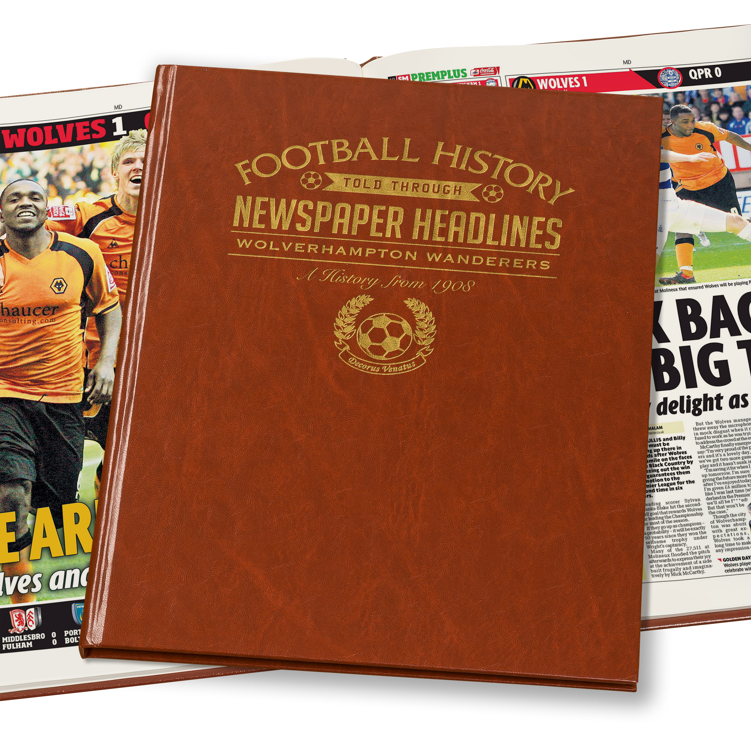 Wolves Newspaper Book (Colour Pages)