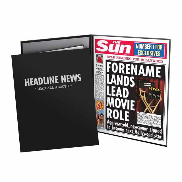 The Sun Movie News Folder - Male