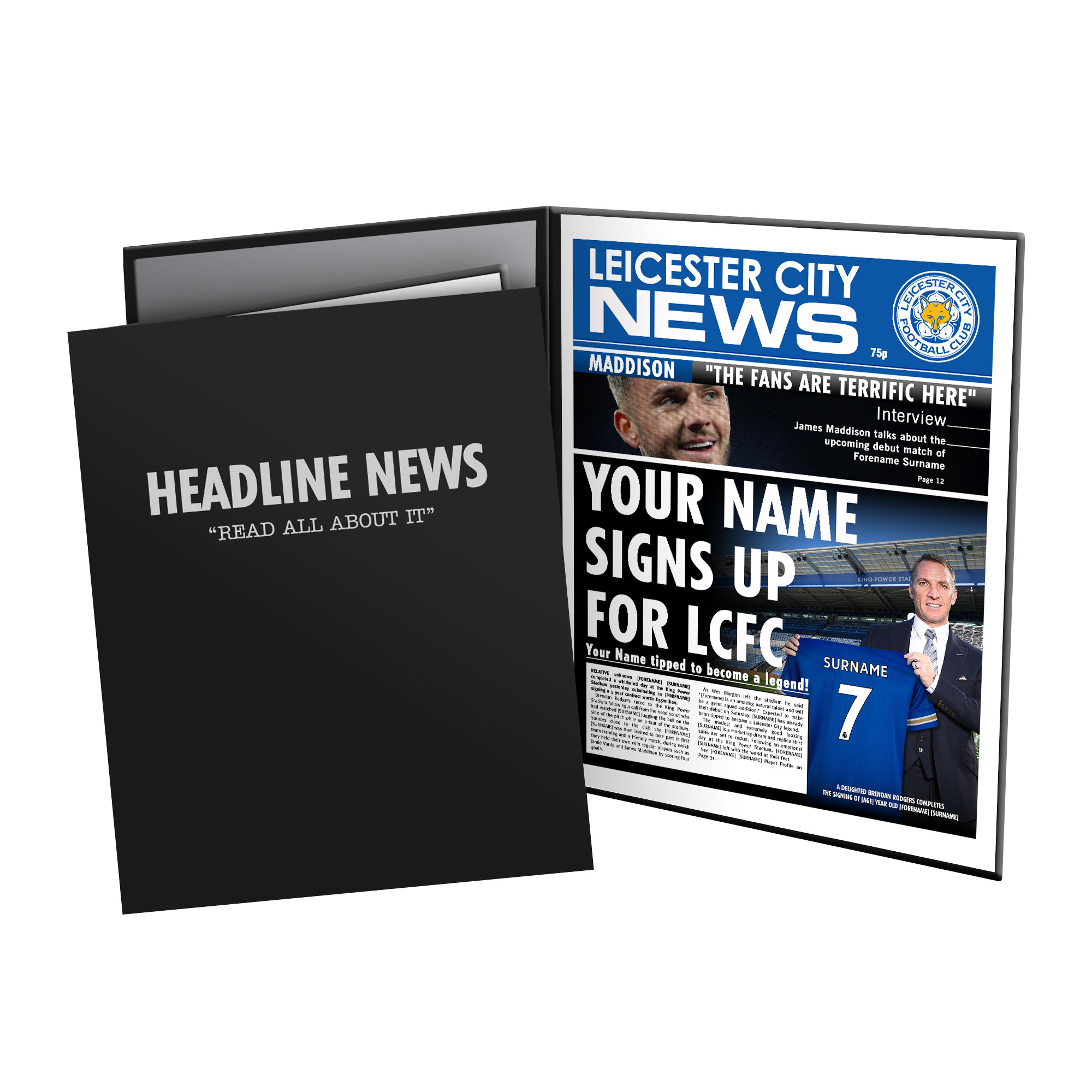 Leicester City FC News Folder
