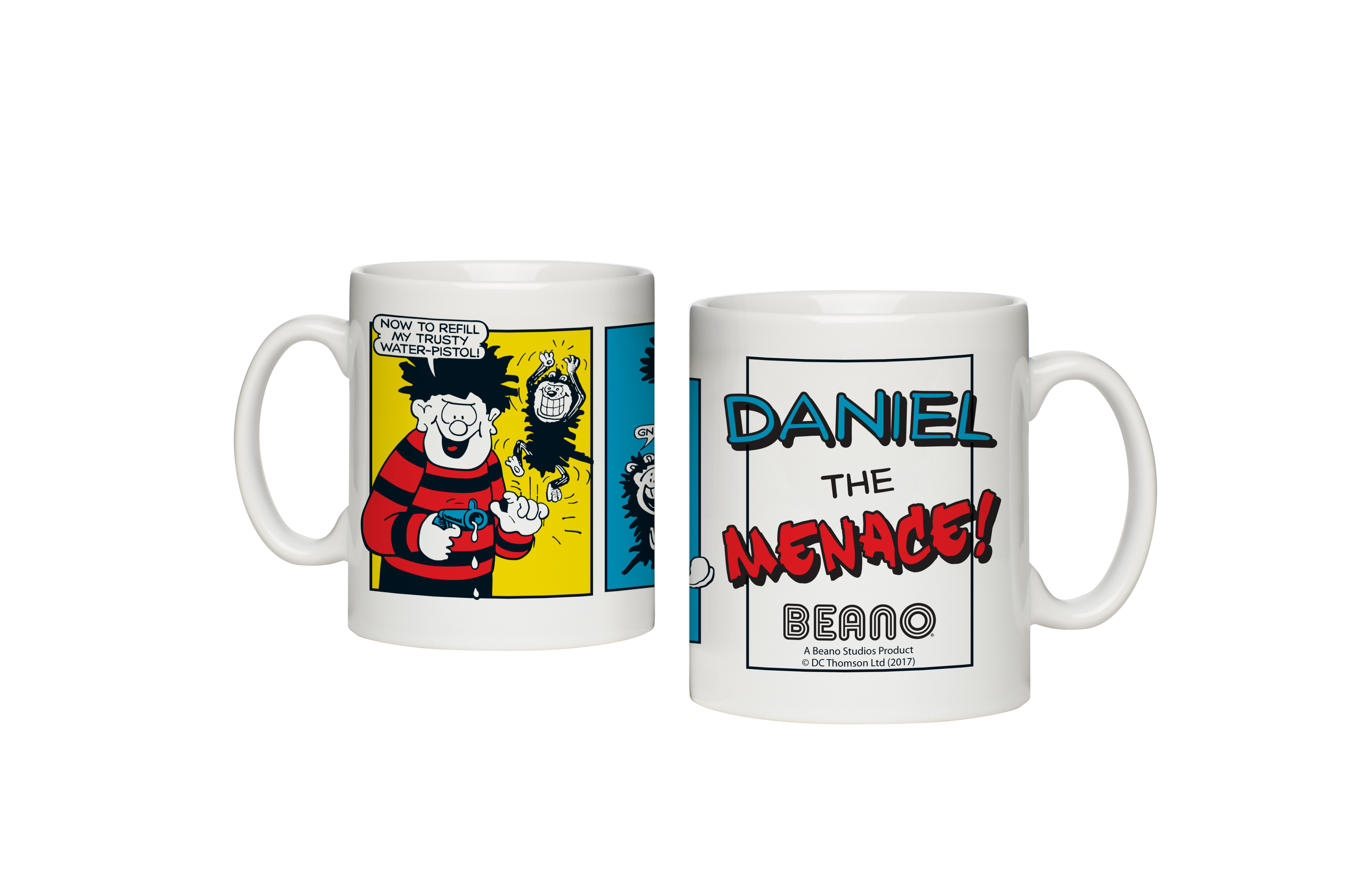 Beano Classic Comic Strip Water Pistol Mug