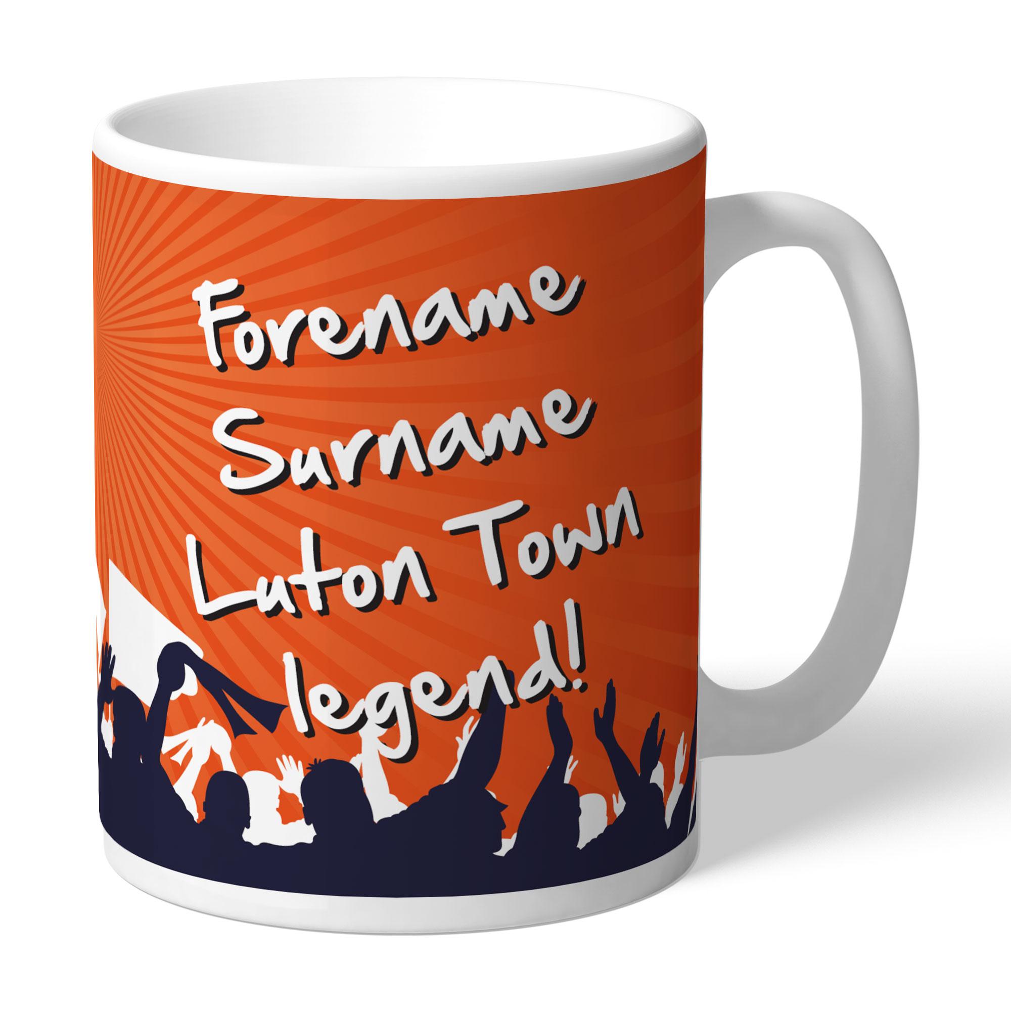 Luton Town FC Legend Mug