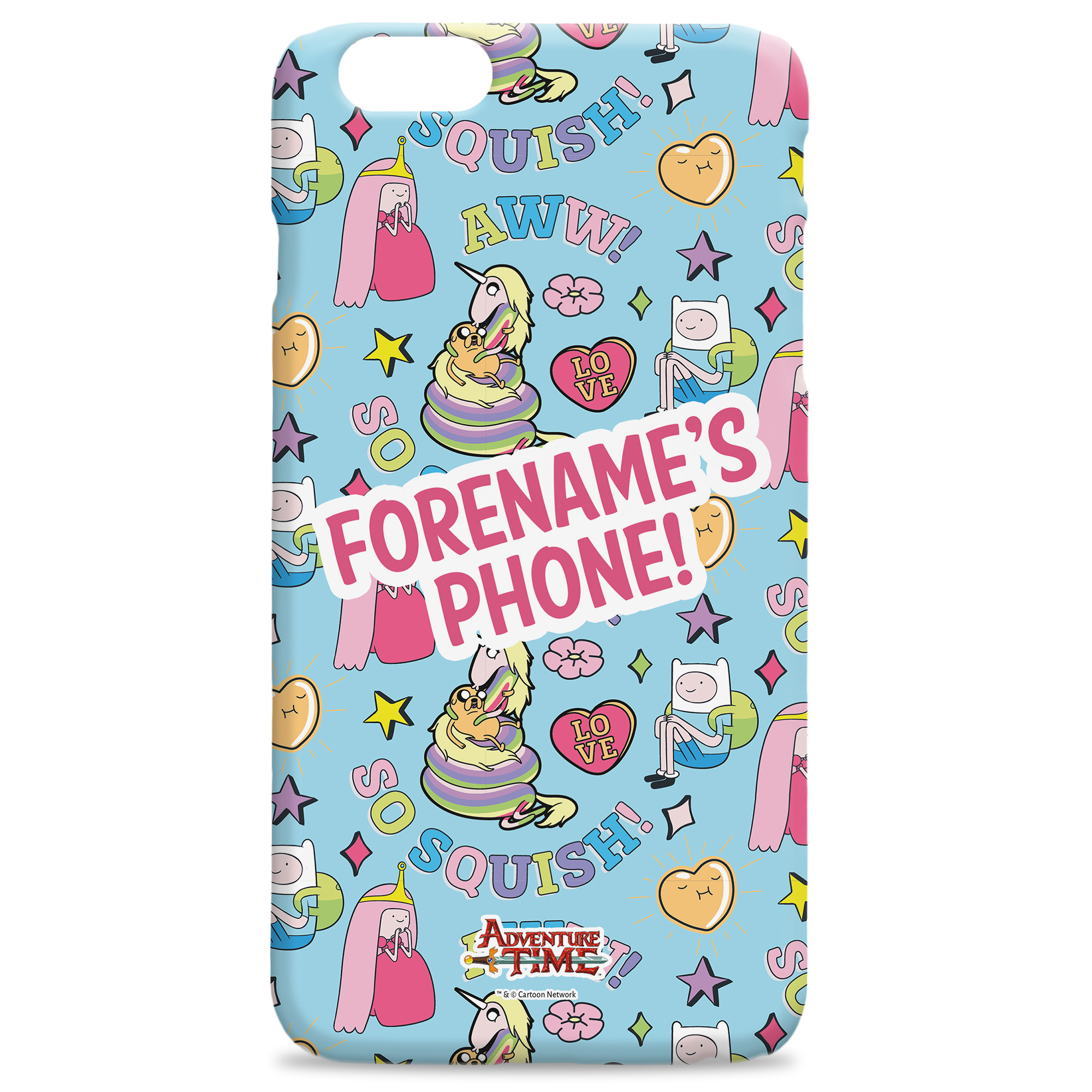 Adventure Time Squish iPhone Case
