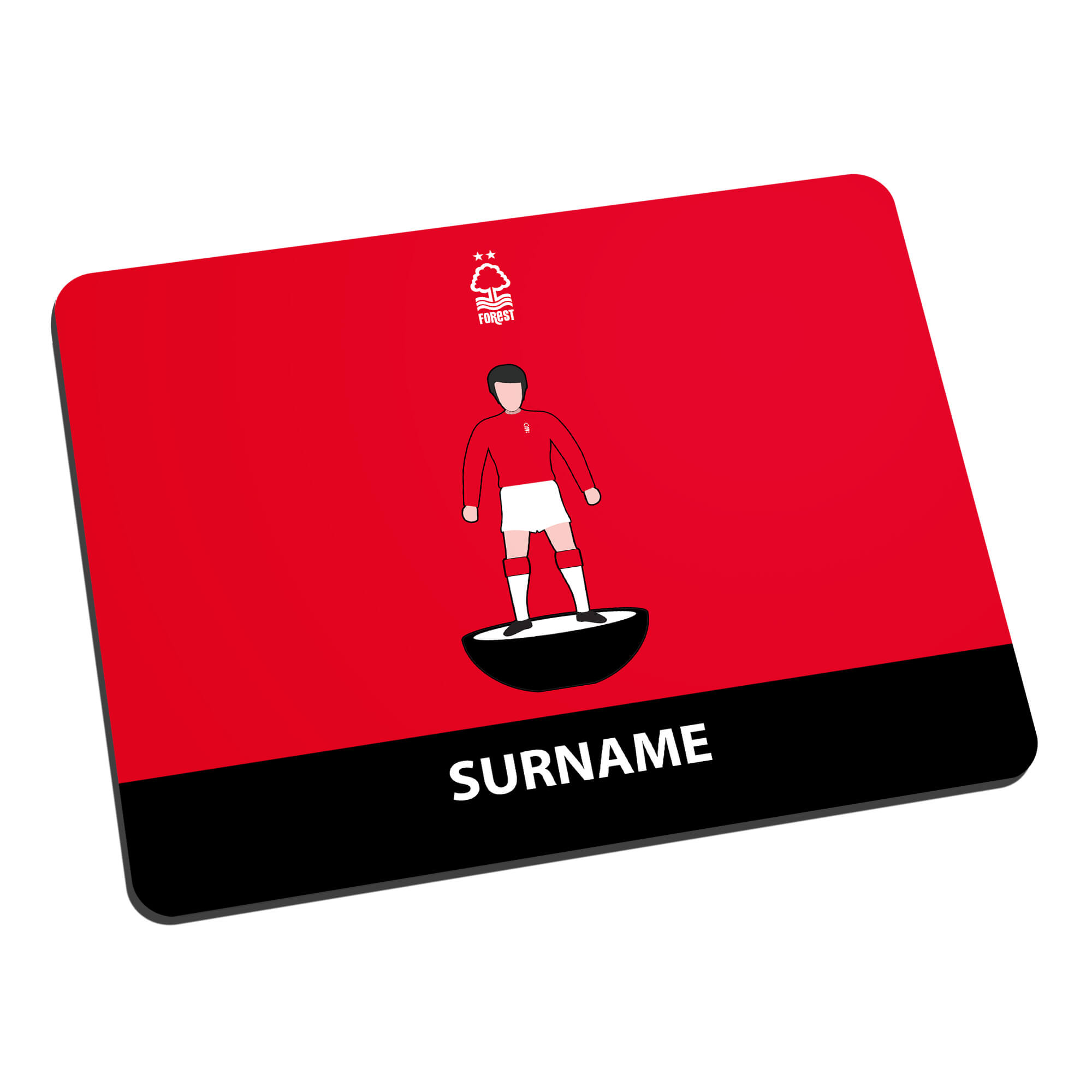 Nottingham Forest FC Player Figure Mouse Mat