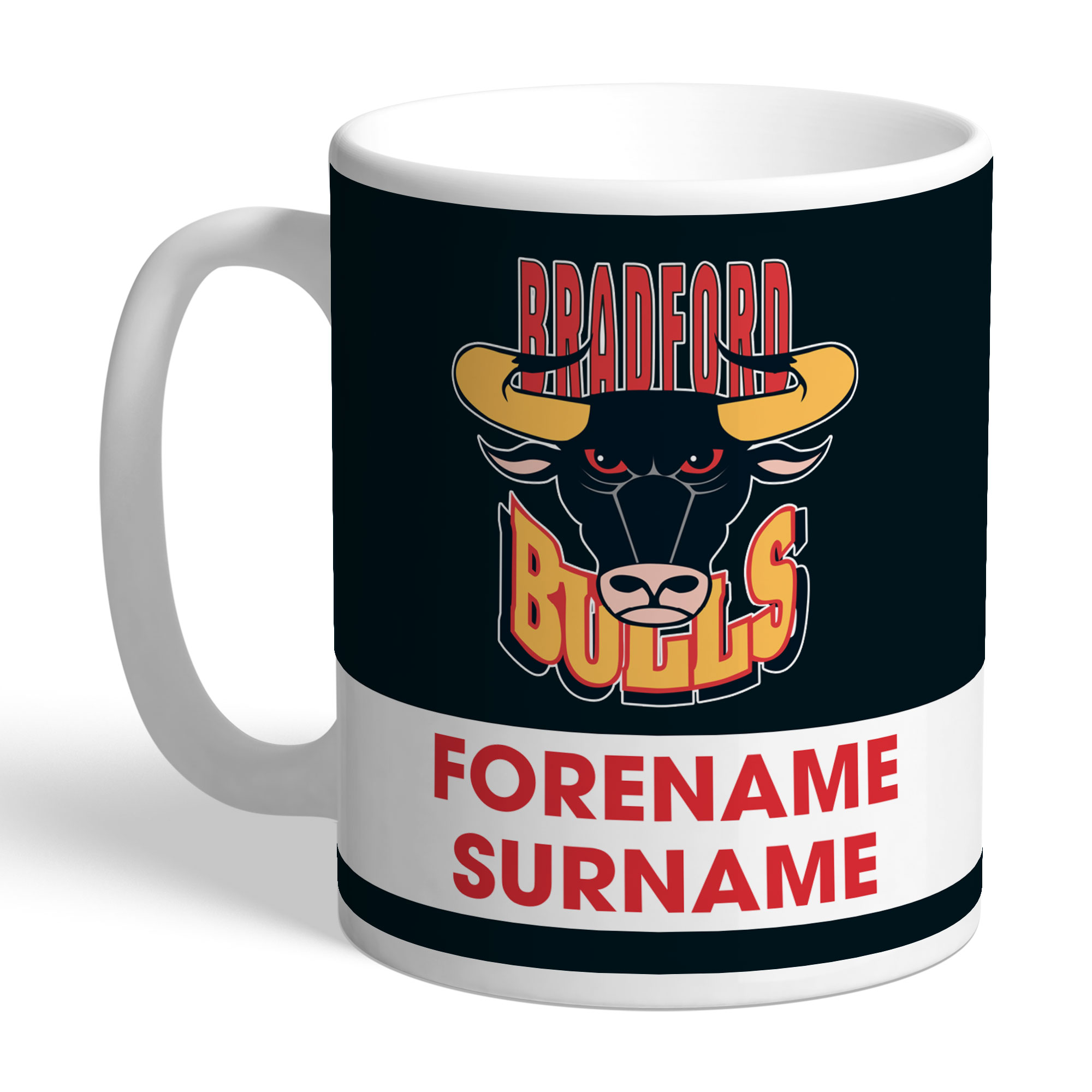 Bradford Bulls Eat Sleep Drink Mug