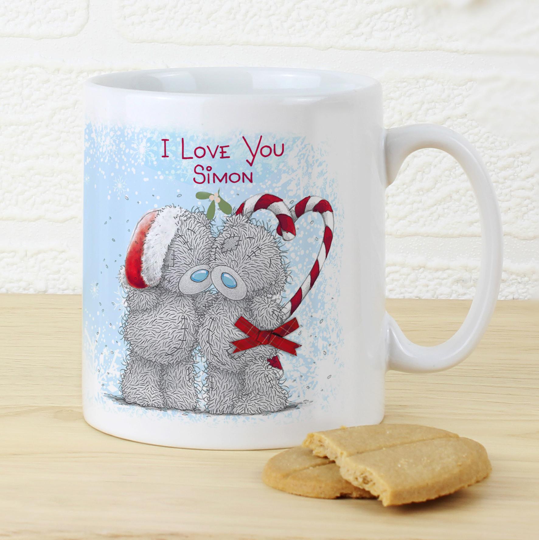 Personalised Me to You Christmas Couple Mug