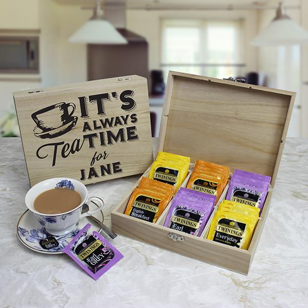 Personalised Tea Chest - British Classics