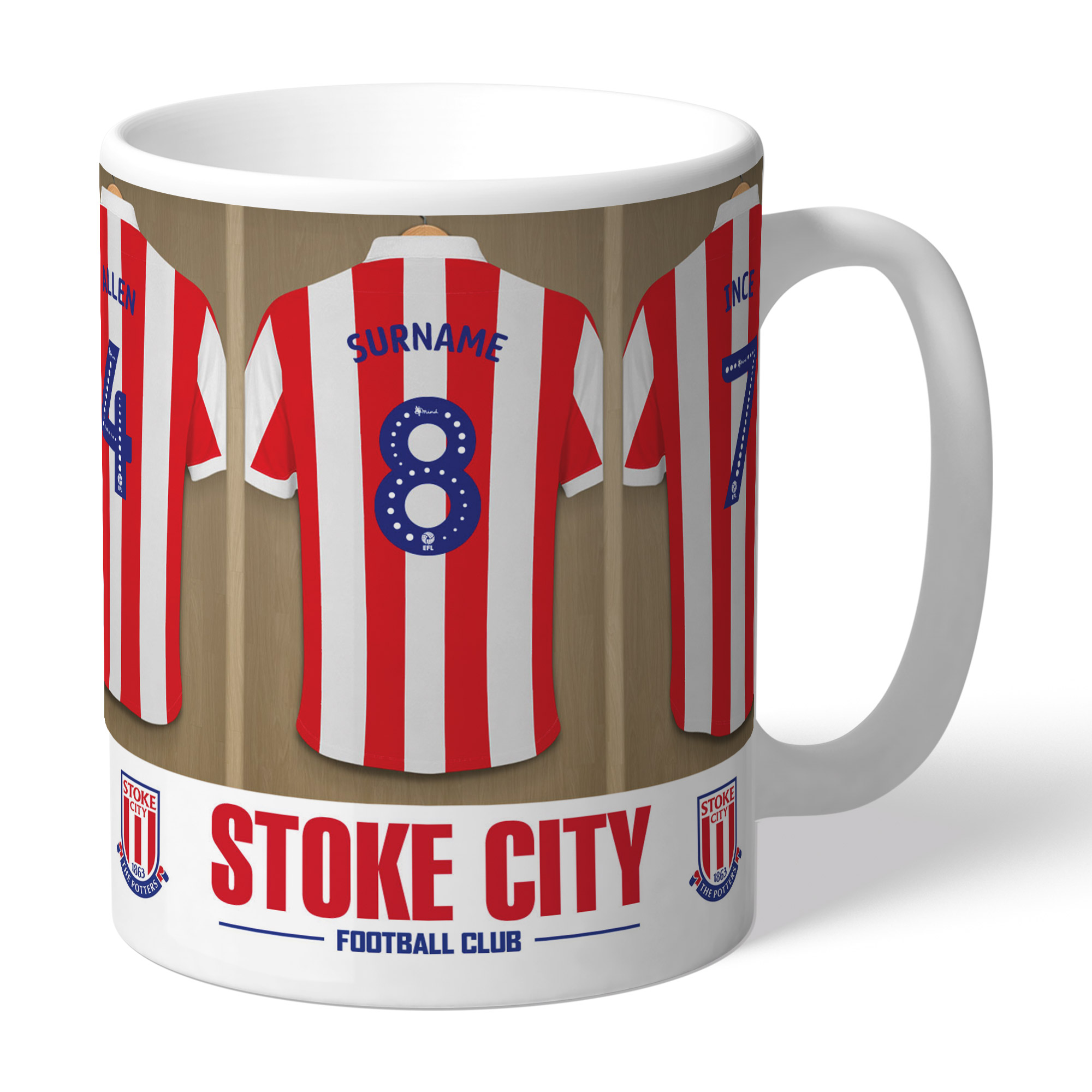 Stoke City FC Dressing Room Mug