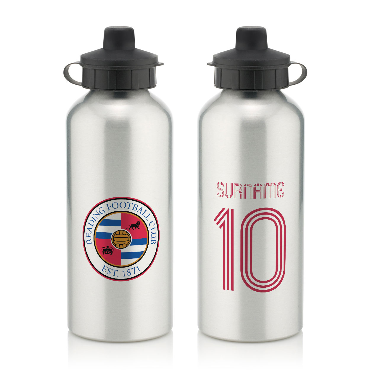 Reading FC Retro Shirt Water Bottle