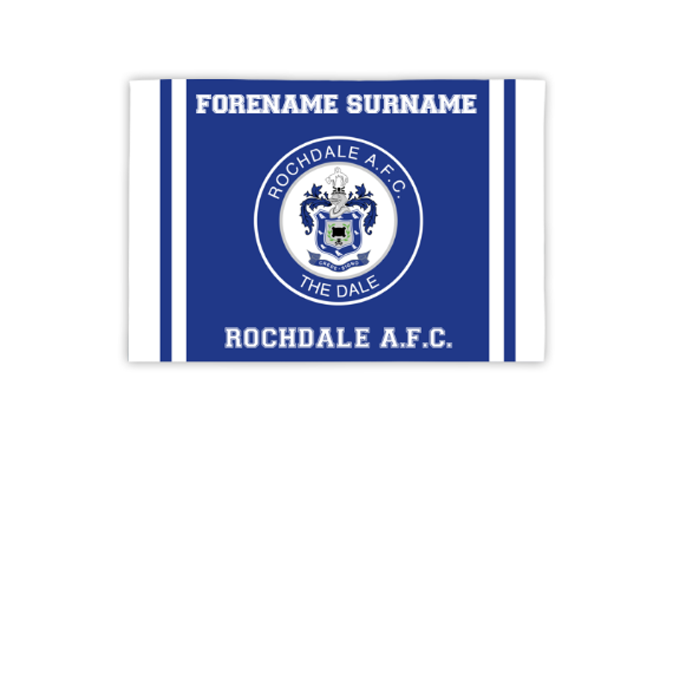 Rochdale AFC Crest 3ft x 2ft Banner