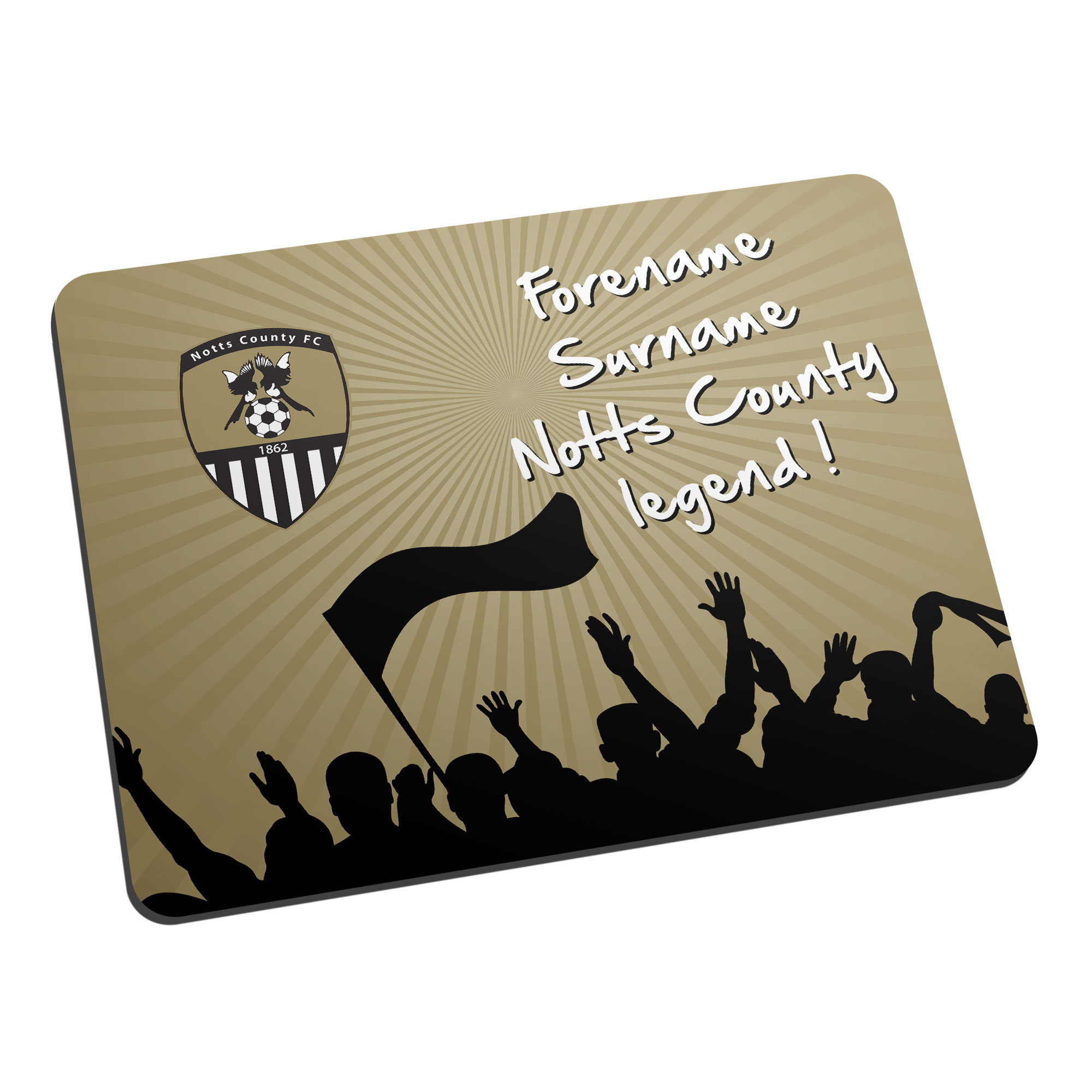 Notts County FC Legend Mouse Mat