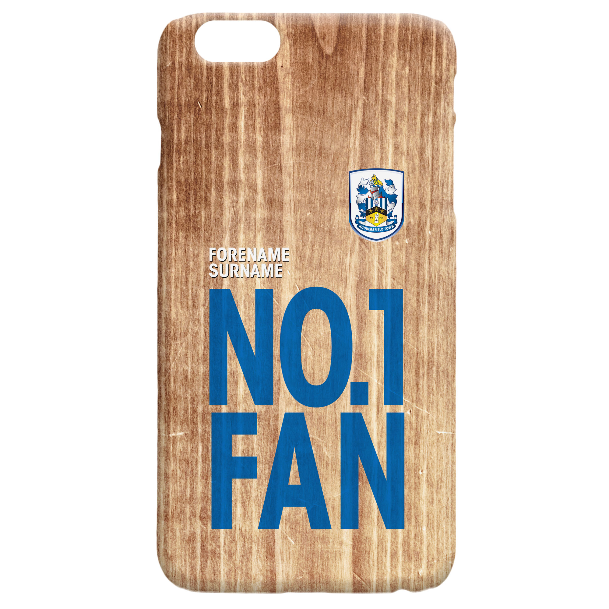 Huddersfield Town No 1 Fan Hard Back Phone Case