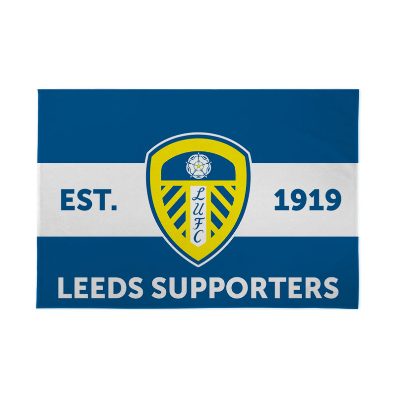 Leeds United FC Supporters 6ft x 4ft Banner