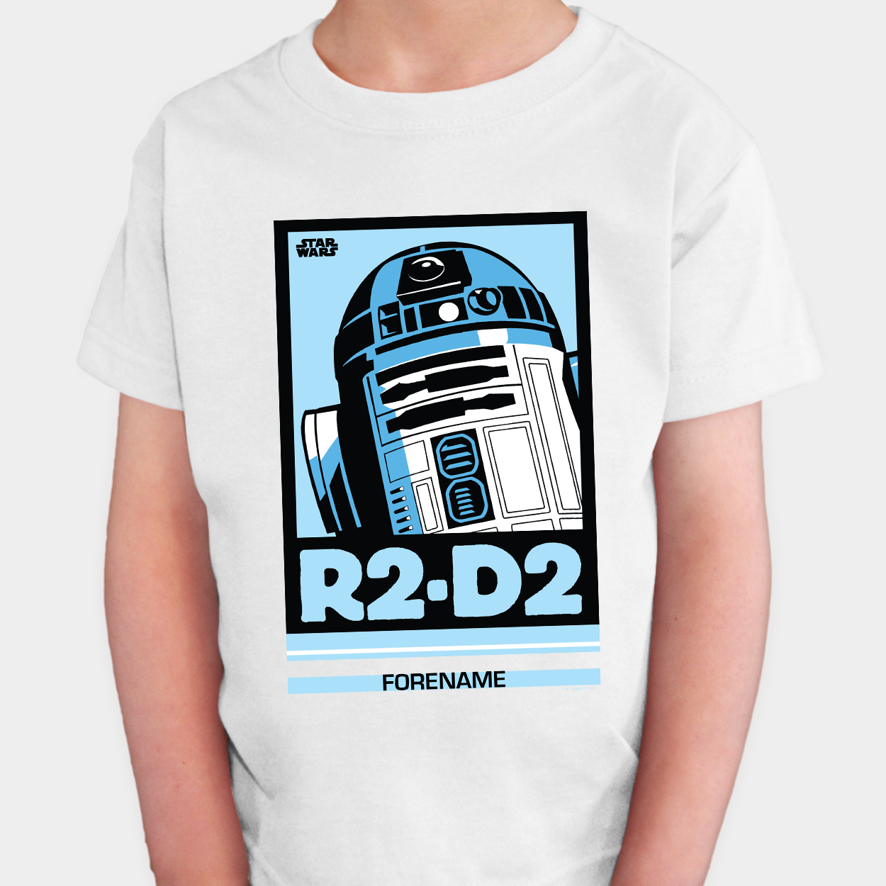 Star Wars R2 D2 Pop Art Kids T-shirt