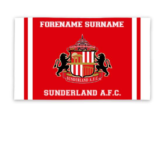 Sunderland Crest 5ft x 3ft Banner