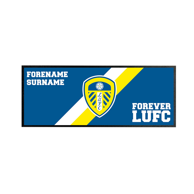 Leeds United FC Forever Regular Bar Runner