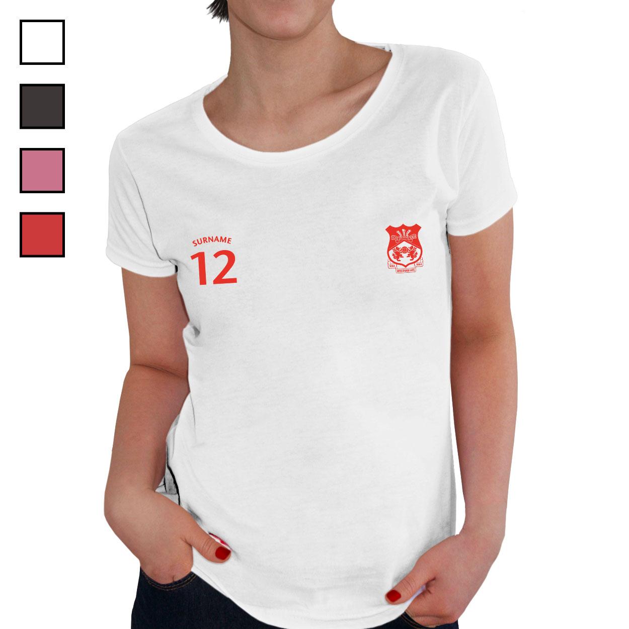 Wrexham AFC Ladies Sports T-Shirt