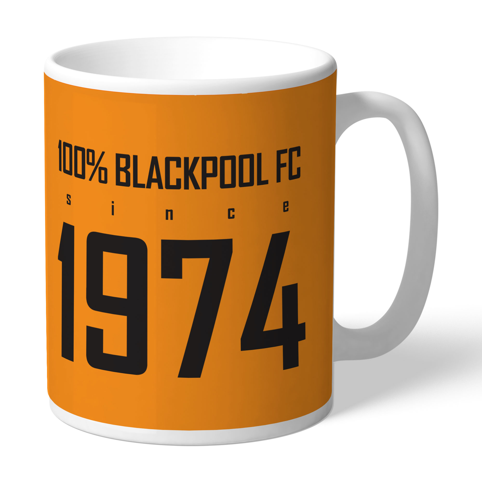 Blackpool FC 100 Percent Mug