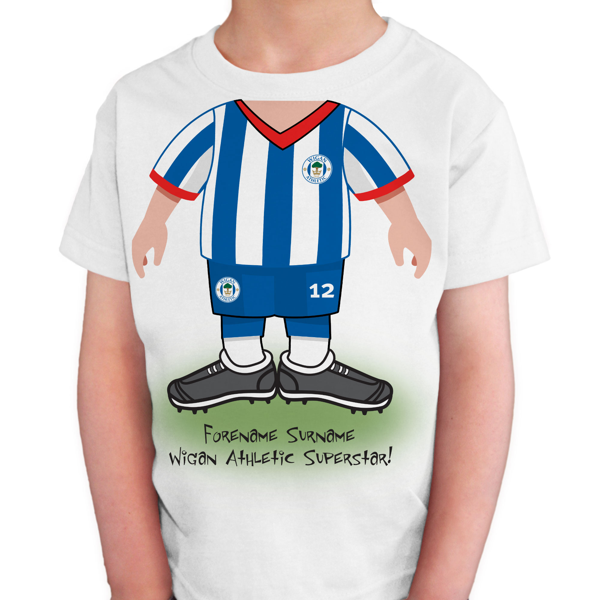 Wigan Athletic FC Kids Use Your Head T-Shirt
