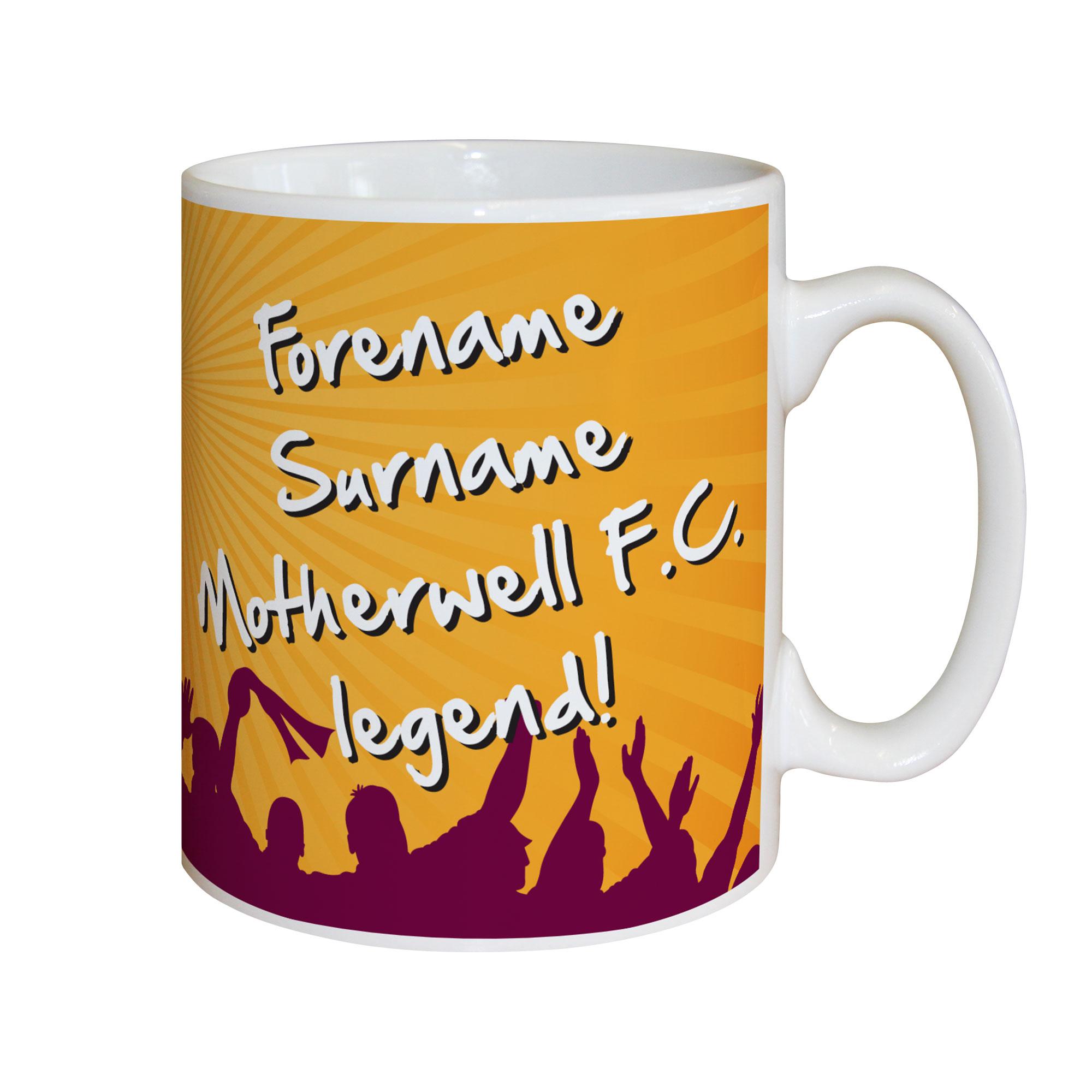 Motherwell FC Legend Mug