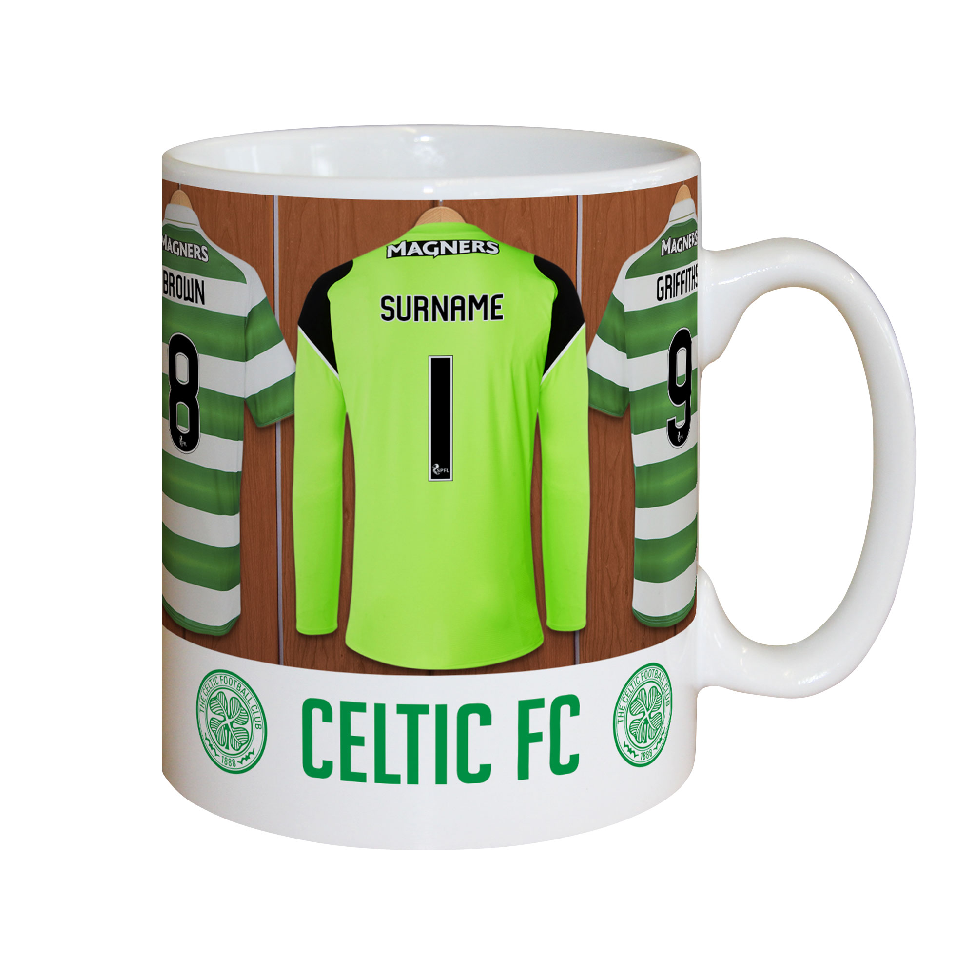 Celtic FC Goalkeeper Dressing Room Mug