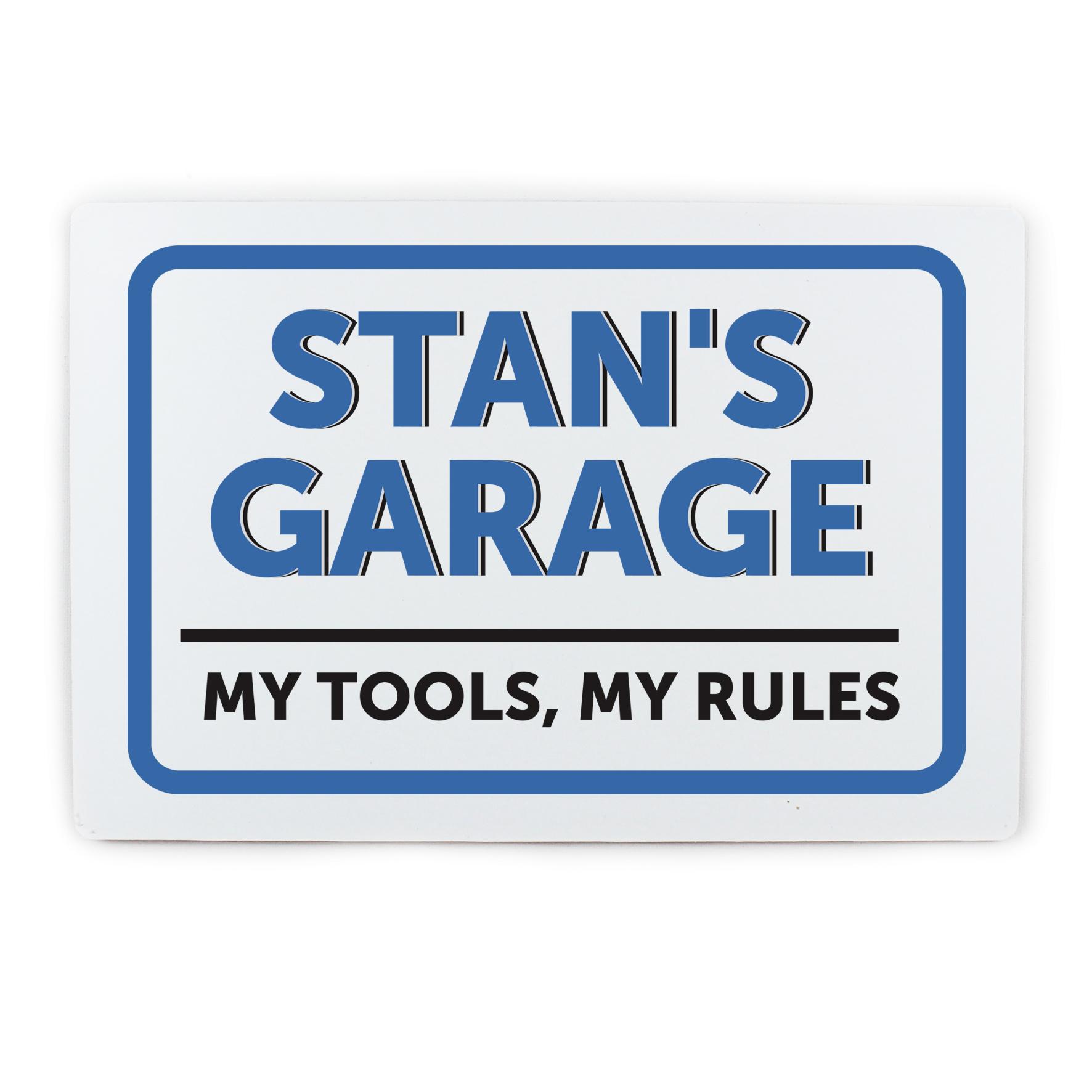Personalised Garage Sign