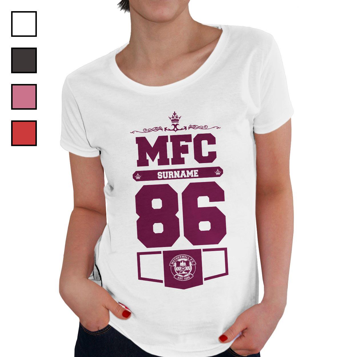 Motherwell FC Ladies Club T-Shirt