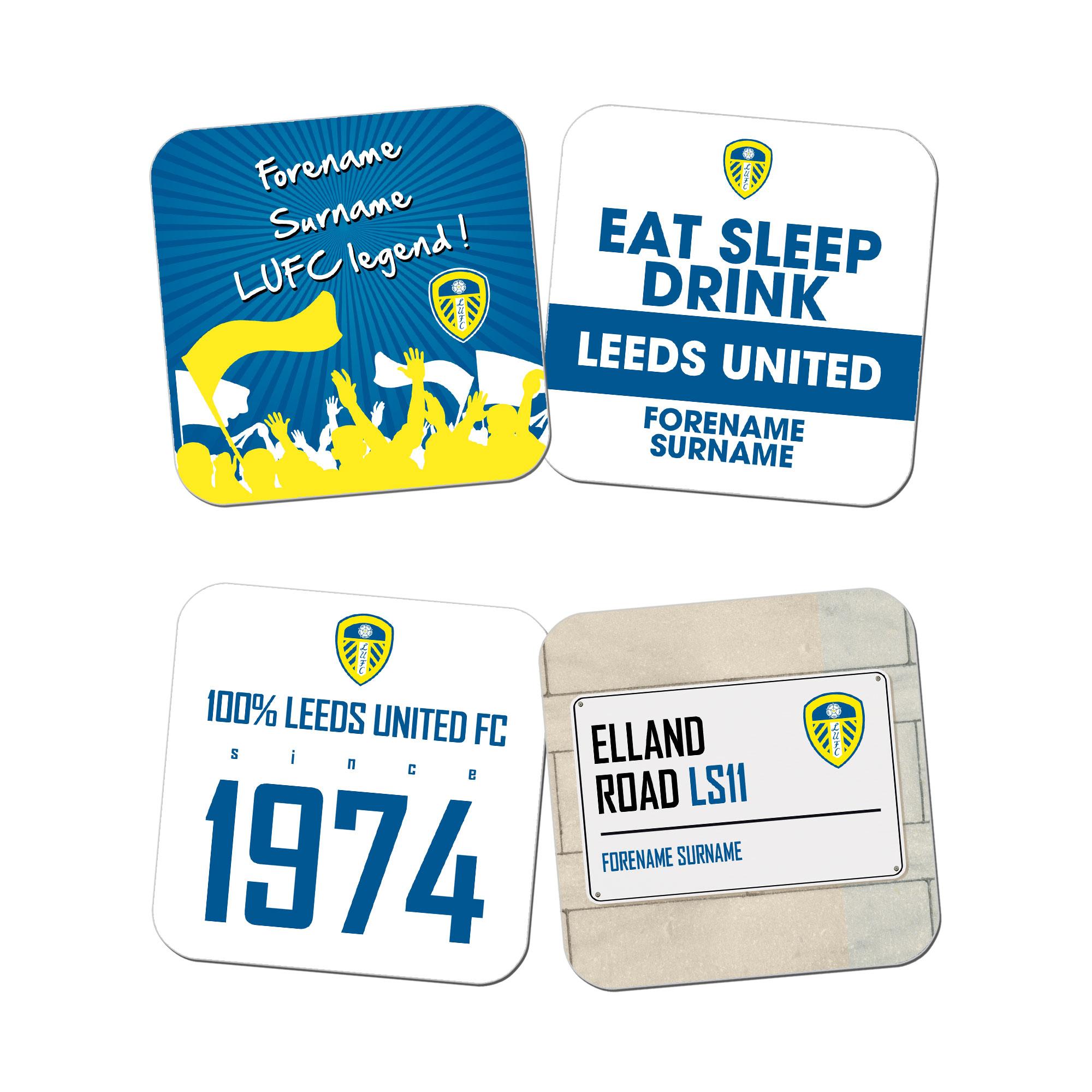 Leeds United FC Coasters