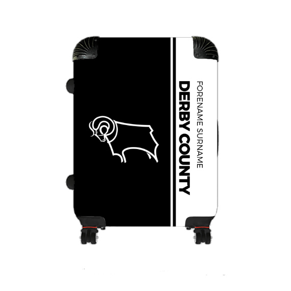Derby County Crest Medium Suitcase