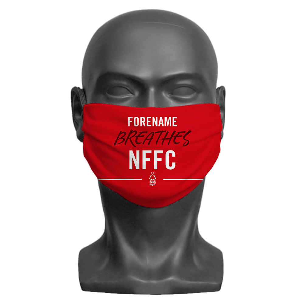 Nottingham Forest FC Breathes Adult Face Mask (Large)