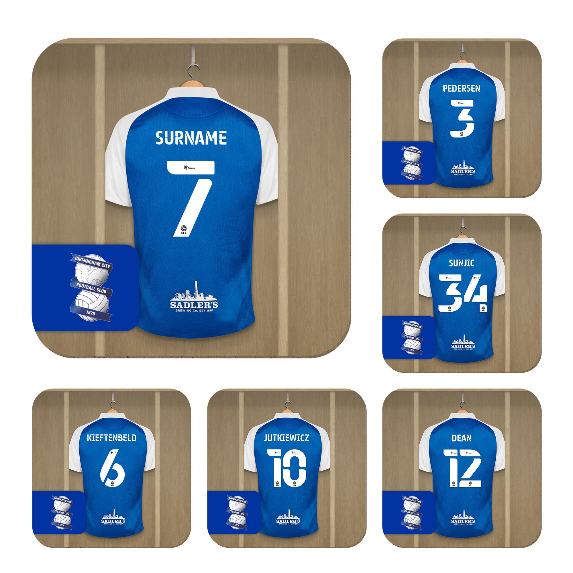 Birmingham City FC Dressing Room Coasters