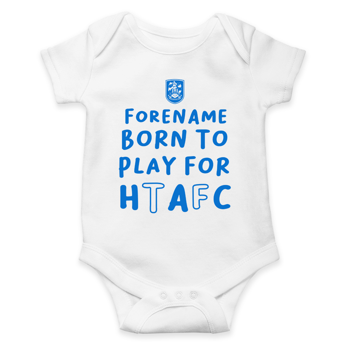 Huddersfield Town AFC Born to Play Baby Bodysuit