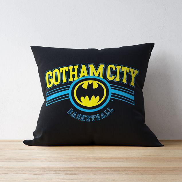 Batman™ Varsity Personalised Cushion