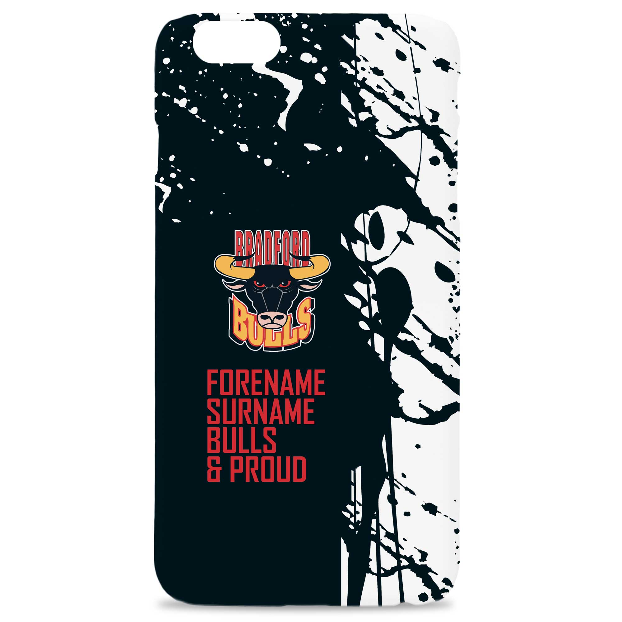 Bradford Bulls Proud Hard Back Phone Case