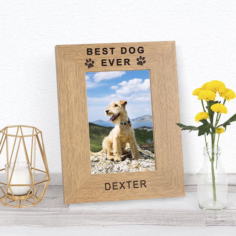 Best Pet Ever Photo Frame