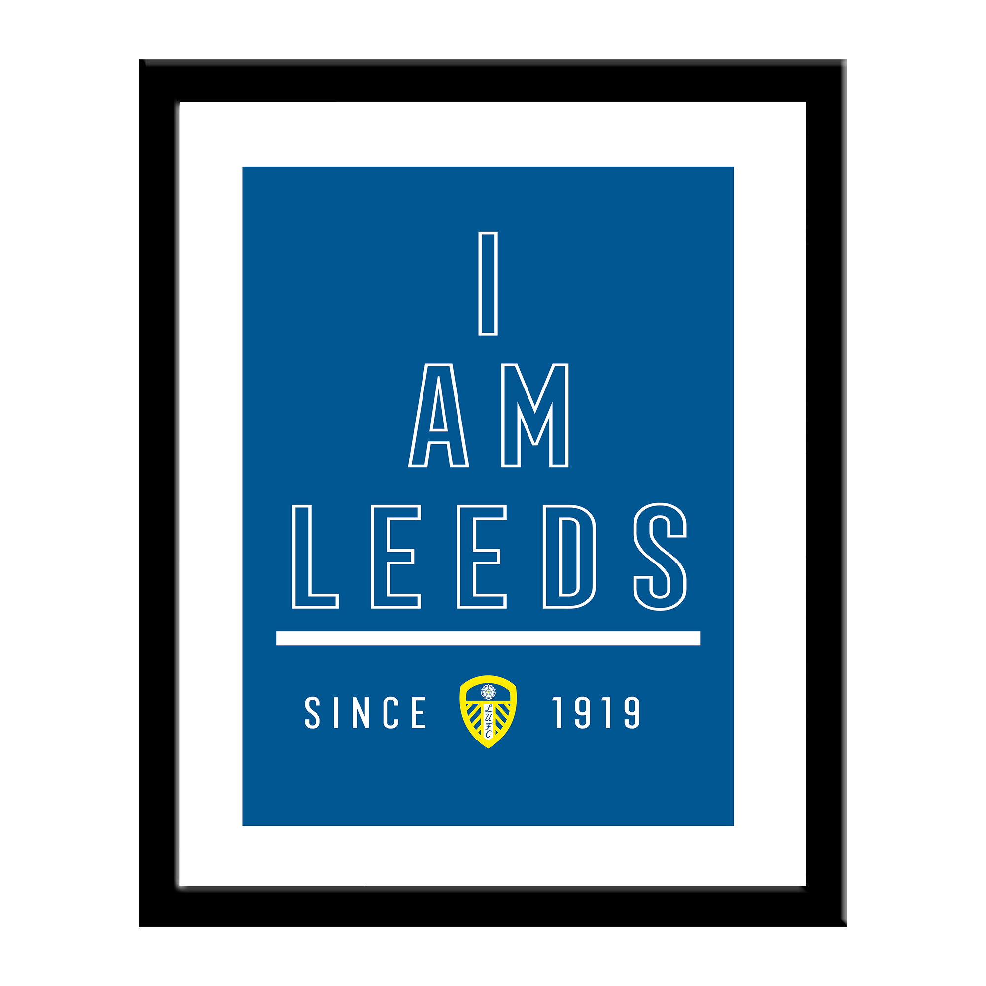 Leeds United FC I Am Print