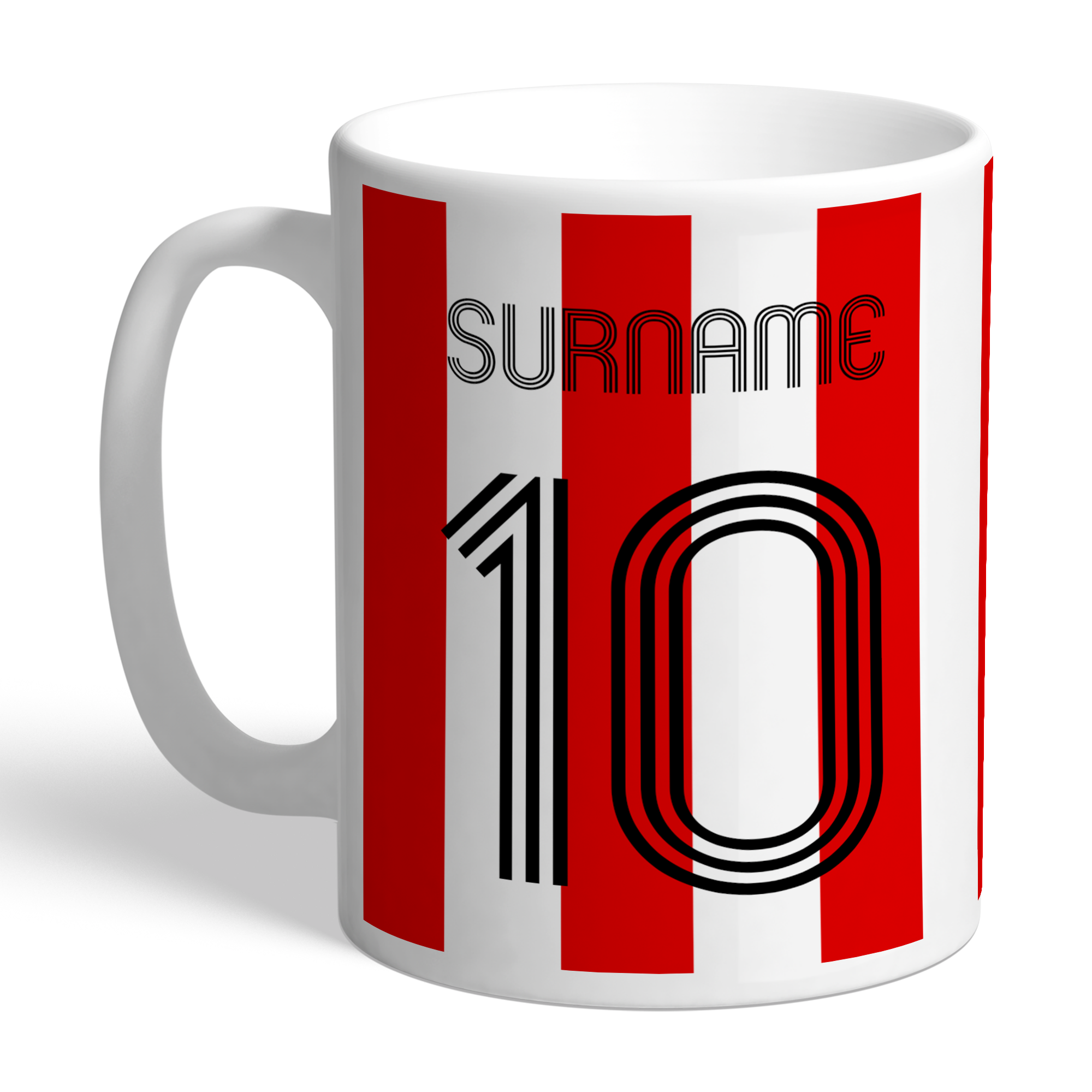 Brentford Retro Shirt Mug