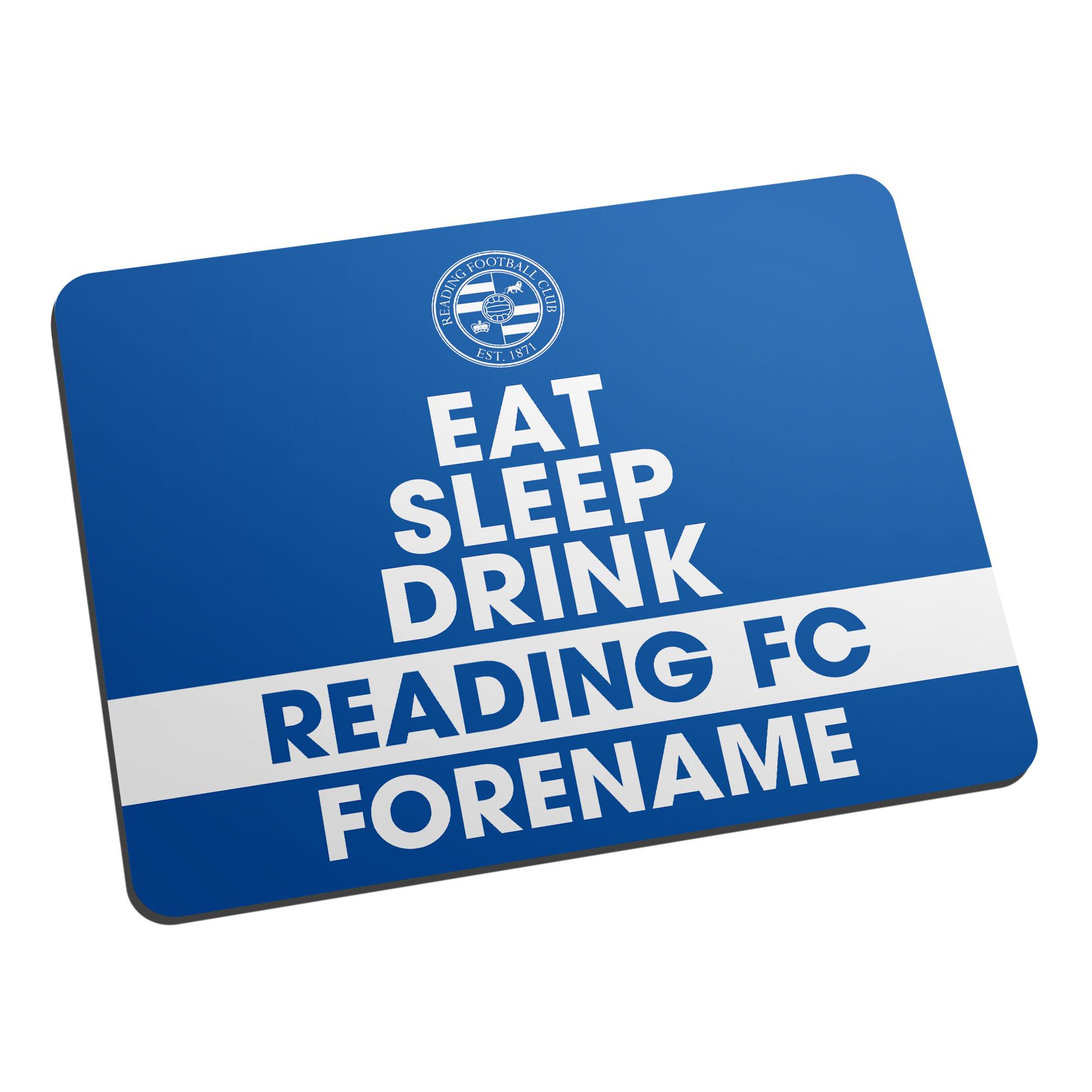 Reading FC Eat Sleep Drink Mouse Mat