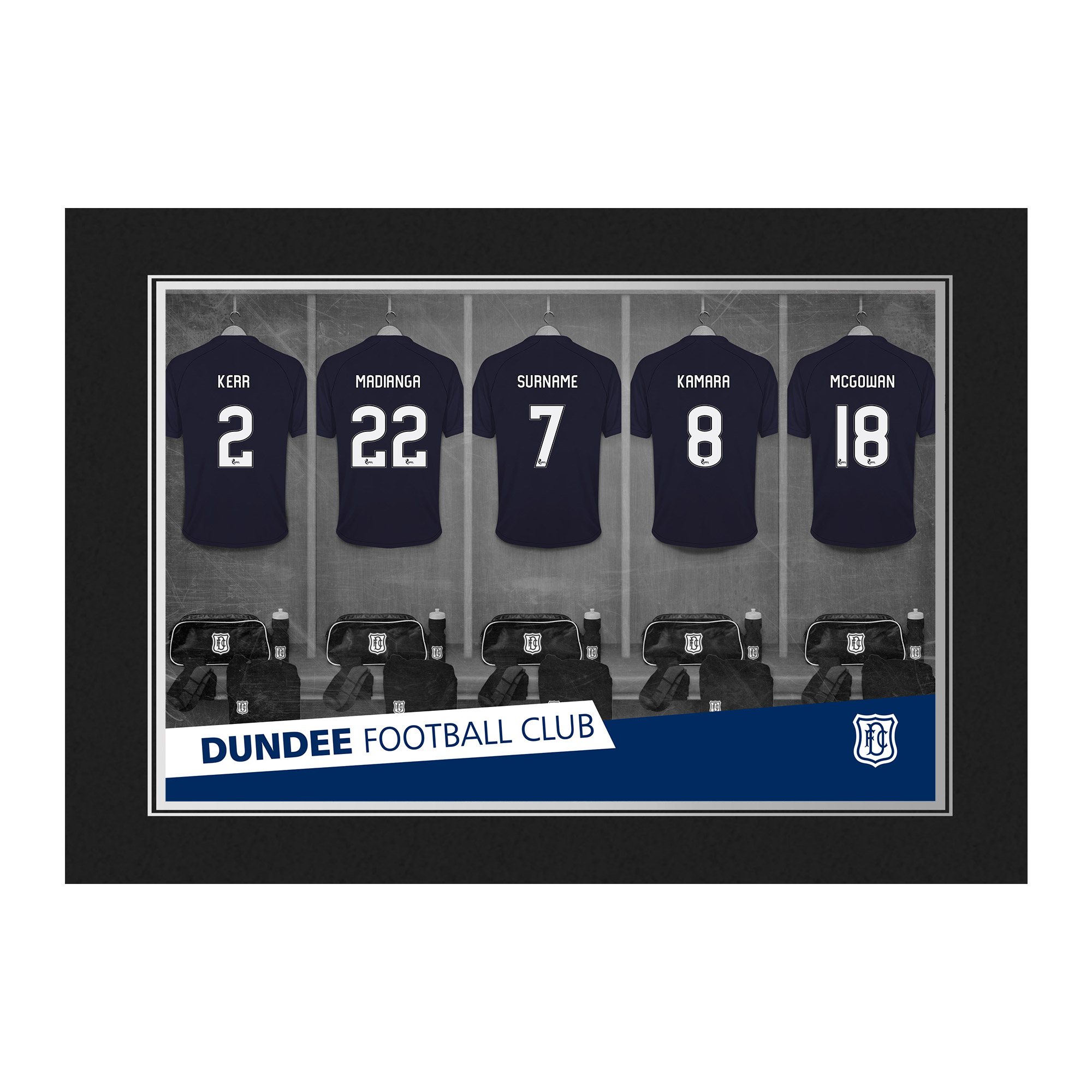 Dundee FC 9x6 Dressing Room Photo Folder