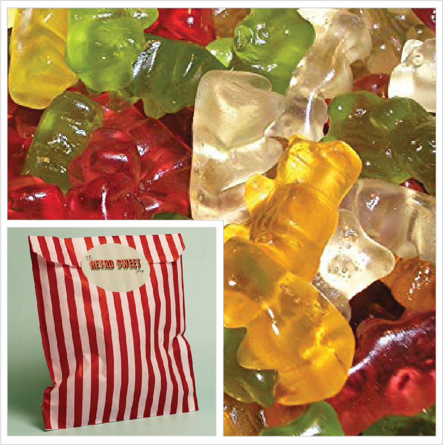 Teddy bear Sweet Bag