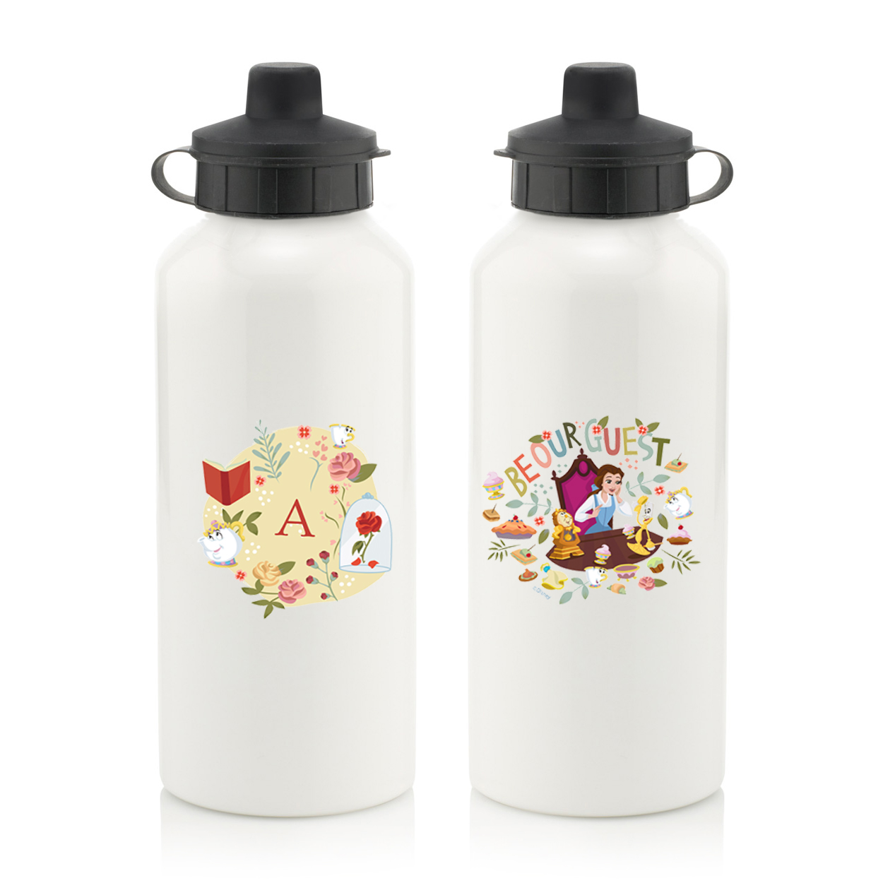 Disney Princess Belle Initial Water Bottle