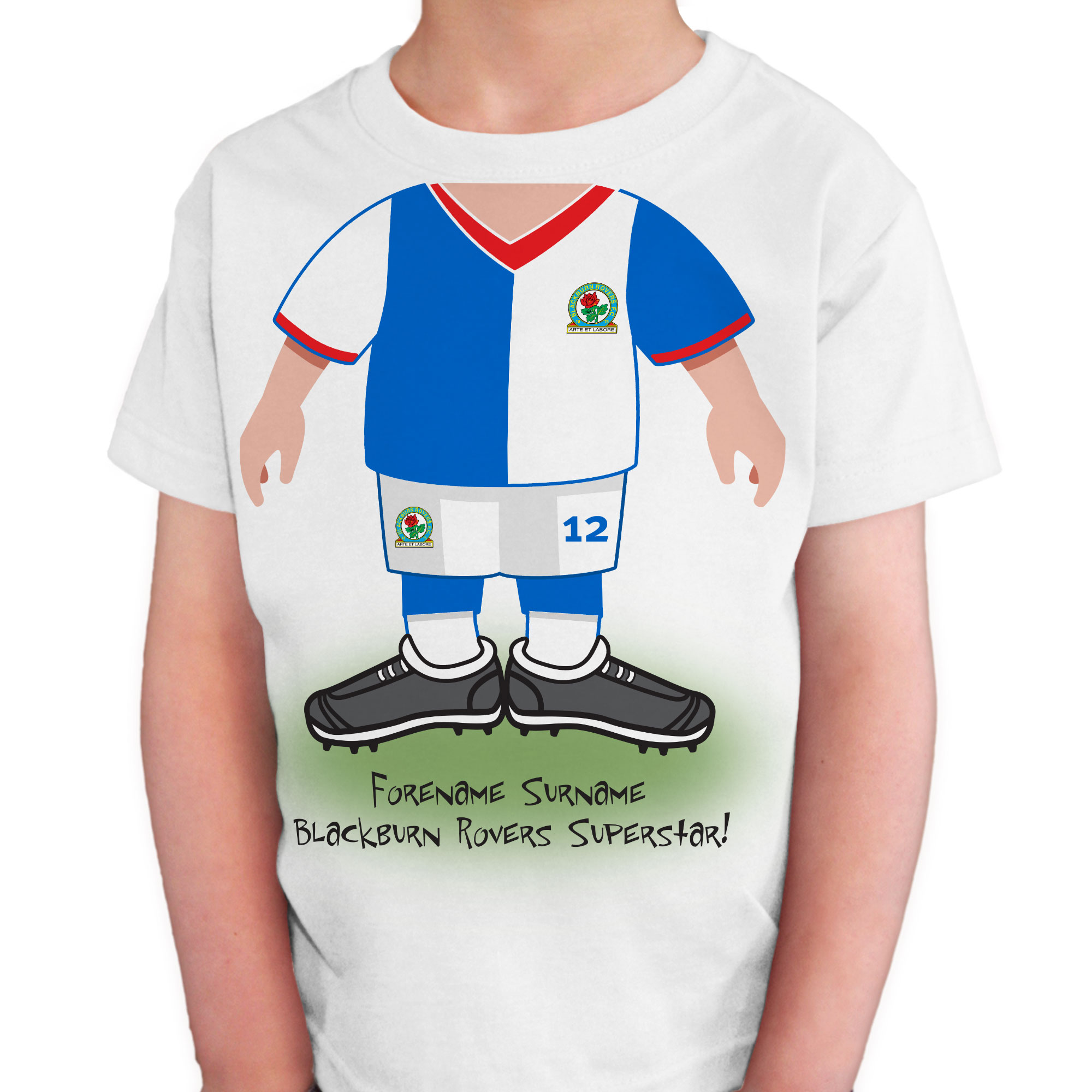 Blackburn Rovers FC Kids Use Your Head T-Shirt