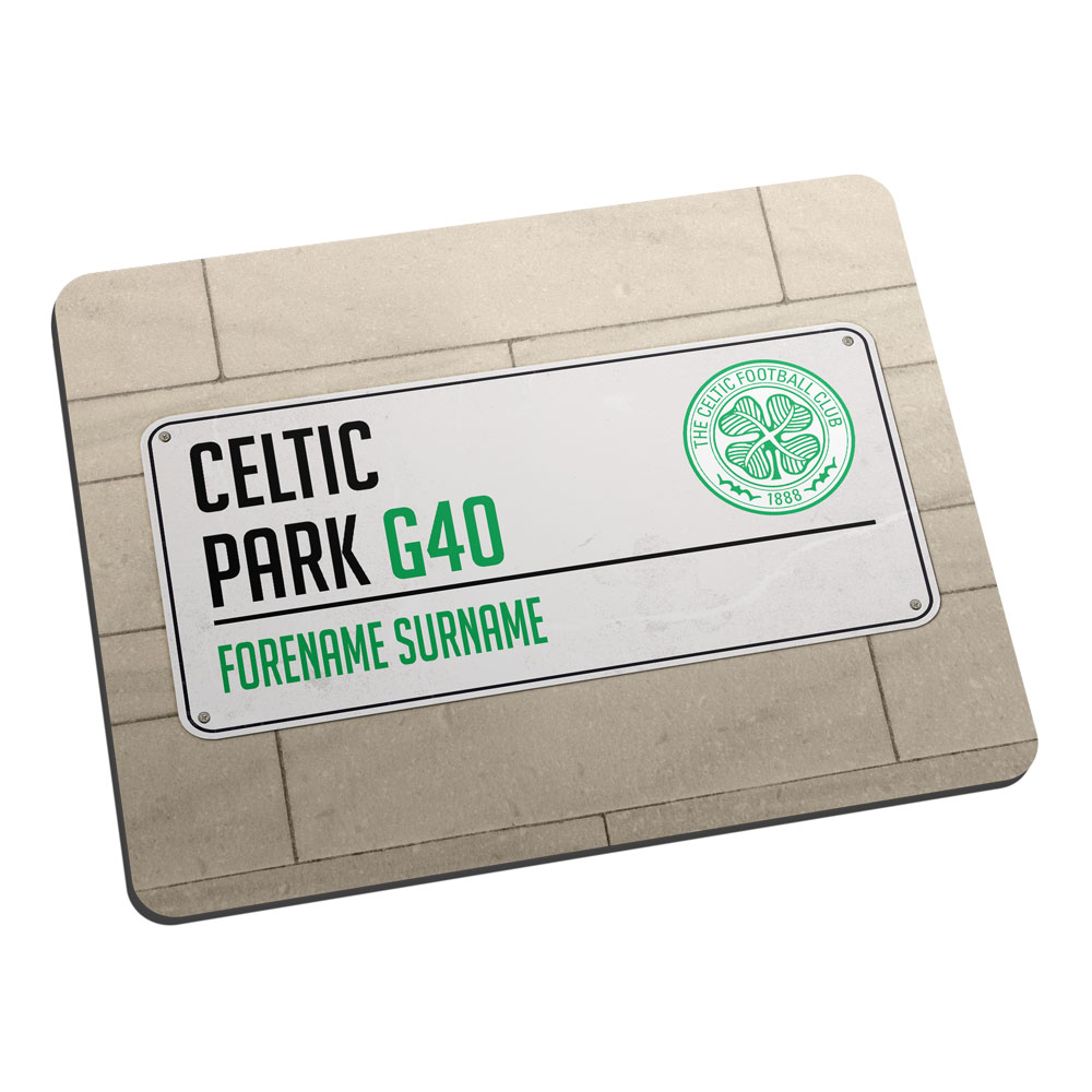 Celtic FC Street Sign Mouse Mat
