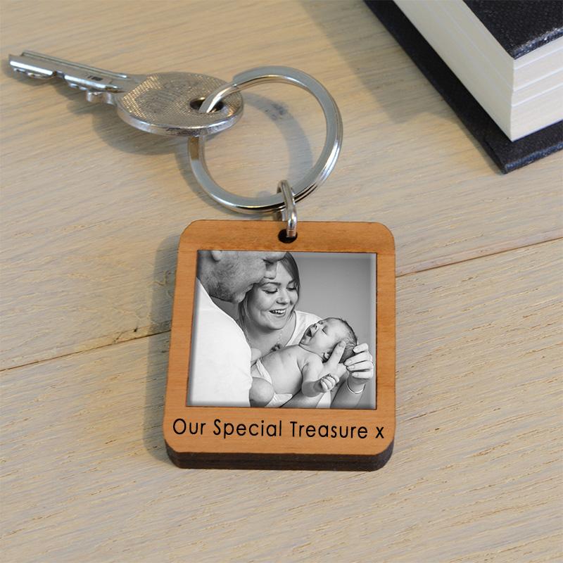 Personalised Photo Key Ring