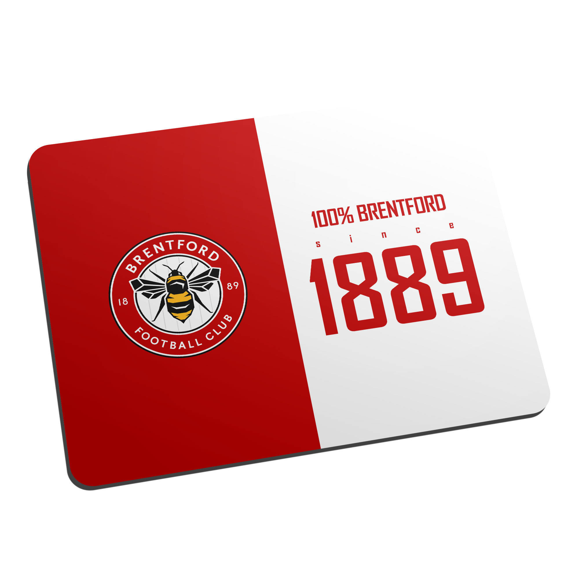 Brentford FC 100 Percent Mouse Mat