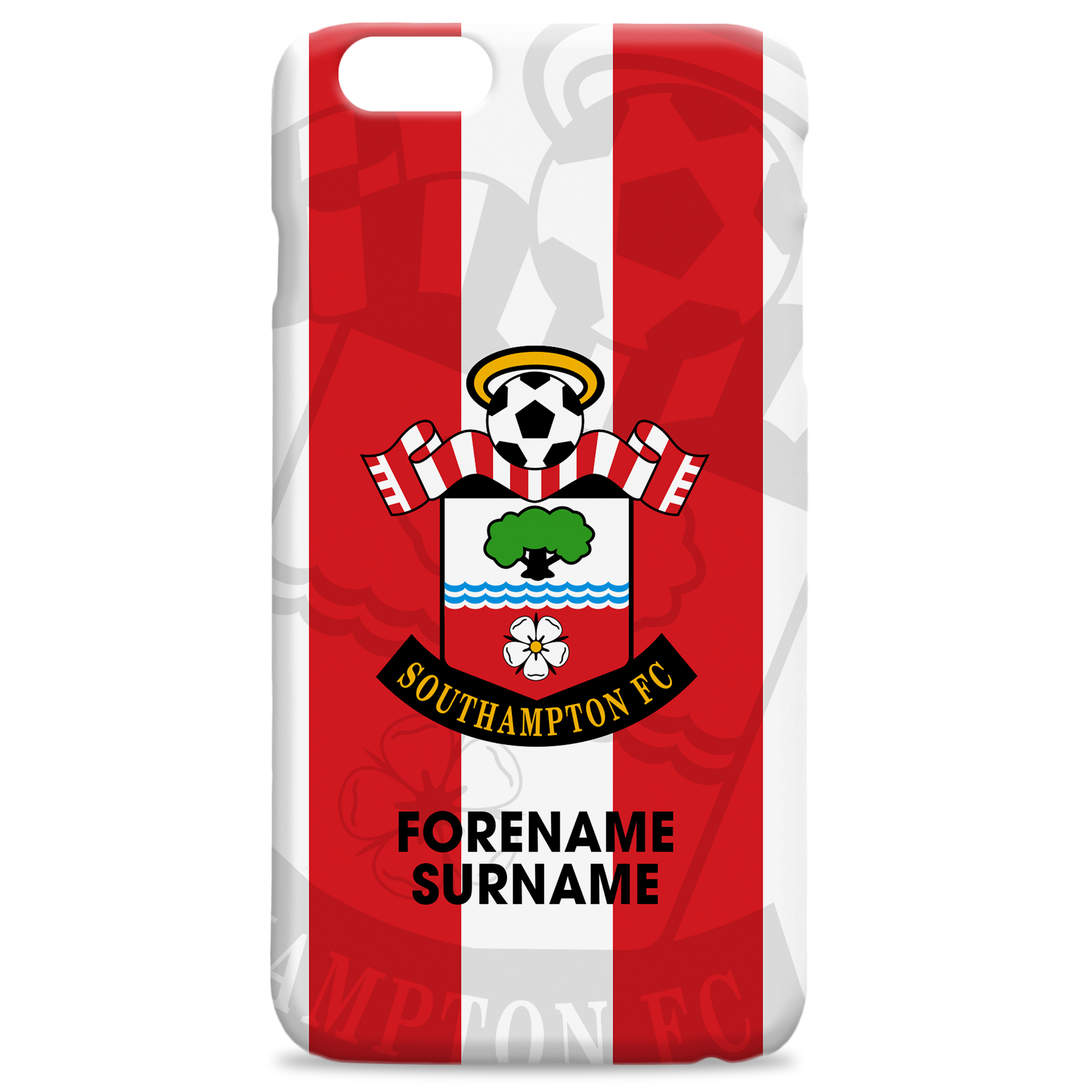 Southampton FC Bold Crest Hard Back Phone Case