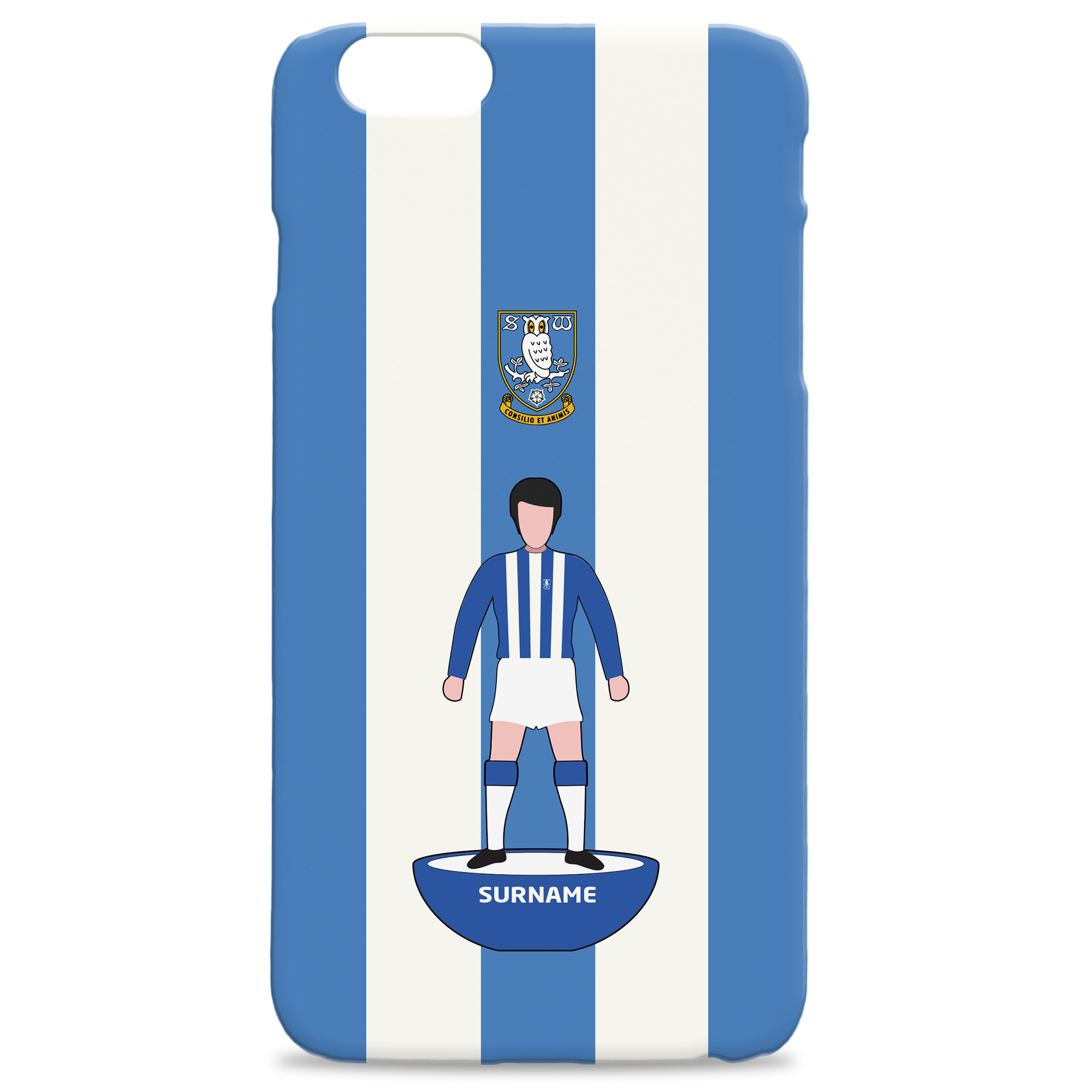 Sheffield Wednesday Player Figure Hard Back Phone Case